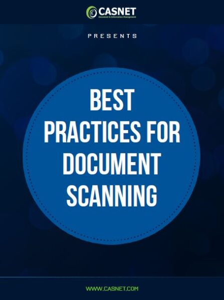 Best Practices for Document Scanning eBook by CASNET