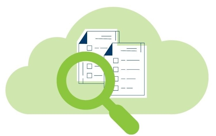 Search fir documents in a cloud